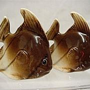 SALE Salt and Pepper Set Fish Shakers