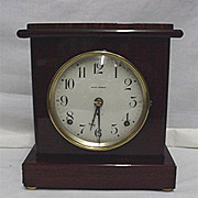 SALE Seth Thomas Clock Rosewood Finish Adamantine