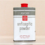 SALE Advertising Tin for Avon Antiseptic Powder 50% OFF
