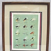 SALE Framed Print of E. H. Rosborough Tied Flies 50% OFF