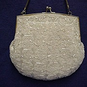 REDUCED Beaded Hand Bag or Purse