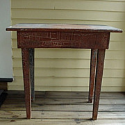 SALE Farm Table with Taper Legs