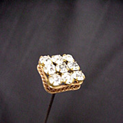 "SALE Hatpin 10"" long Hat Pin Set with Brilliance  $100"