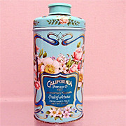 SALE Advertising Tin California Perfume Co. Perfumed Talc Tin 50% OFF