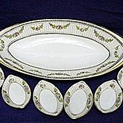 REDUCED Celery Set Nippon Porcelain