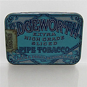 REDUCED Edgeworth  Pipe Tobacco Flat Pocket Tin