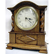SALE Antique Mantel Clock Jacobean French Made