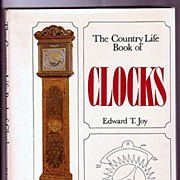 SALE Clocks the Country Life Book by Edward T. Joy