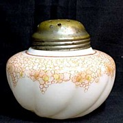 REDUCED Glass Sugar Shaker Circa 1894 - 1898