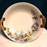 SALE Serving Bowl Nippon Noritake Porcelain Hand Painted