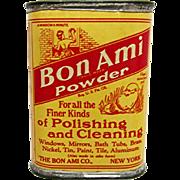 SALE Bon Ami Powder Sample Advertising Tin