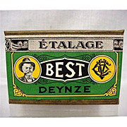 SALE Best Tobacco Advertising Box