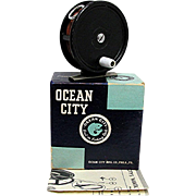 SALE Ocean City Fly Reel Model #35 in Original Box