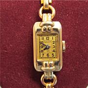 SALE Gruen Wristwatch Ladies 15 Jewel Wrist Watch