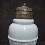 SALE Antique American Glass Single Salt Shaker