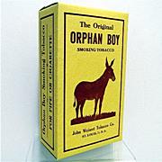 SALE Orphan Boy Tobacco Box MINT  Condition