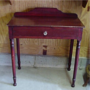 SALE Pine Washstand American Antique