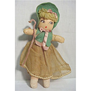SALE Doll Nursery Rhyme Mary Had a Lamb