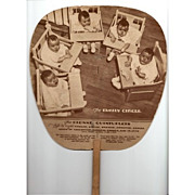 REDUCED Dionne Quintuplet The Family Circle Advertising Fan