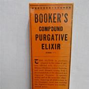 SOLD Bookers Liver Medicine Box Mint Unused Condition