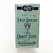 SALE Dr. Lynas Mint Box of Toilet Articles  MINT