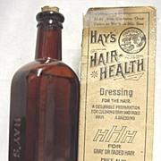 SALE Hays Hair Health Pharmacy or Drugstore Item Unopened