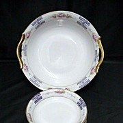 SALE Nippon Porcelain Master Bowl and Six Servings