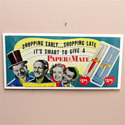 SALE Paper Mate Pens Advertising Sign