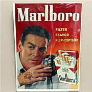 "SALE Marlboro Cigarettes Advertising Sign 18"" by 25"""