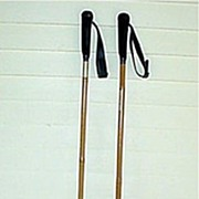 SALE Ski Poles Bamboo Pair One Pair Of Many