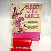 SALE Minnesota Cleaner Shakers Promotional Salt and Pepper Set