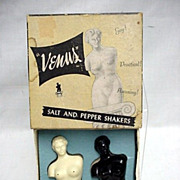SALE Salt and Pepper Set Venus Shakers