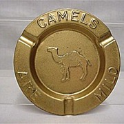 SALE Advertising Camel Cigarettes Four Ash Trays
