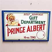 SALE Prince Albert Tobacco Christmas Advertising Sign
