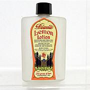SALE Glass Bottle Diana Lemon Lotion