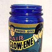 SALE Cobalt Jar Madam Jones Hair Glow-Ene