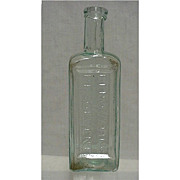 SALE Radways Drugstore or Pharmacy Bottle for Renovating Resolvent