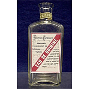 SALE Eau de Quinine Drugstore or Pharmacy Bottle