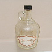 SALE Salad Dressing Glass Jug