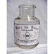 SALE Table Oil Bottle