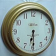 SALE Telechron Wall Clock 18 Inch Diameter