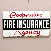 SALE Insurance Advertising Sign Double Sided