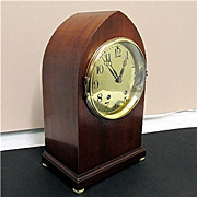 SALE Seth Thomas Brass Dial Mantel Clock 100% Original And Completely Restored