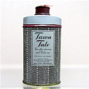 SALE Advertising Tin For Tawn Talc 50% OFF