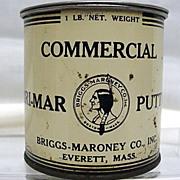 SALE Briggs  Maroney Everett  and Boston Massachusetts Advertising Tin