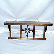 REDUCED Antique Chestnut Shelf 22 Shelves & Cupboards To Choose From