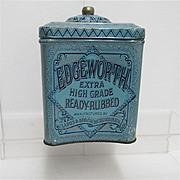 REDUCED Edgeworth Humidor Tobacco Advertising Tin