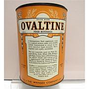SALE Ovaltine  Food Beverage 4 Pound Hospital Size Tin