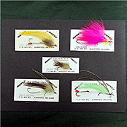 SALE Fly Fishing Flies 5 Different Streamers 50% OFF