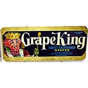 SALE Grape King Wood Advertising Sign